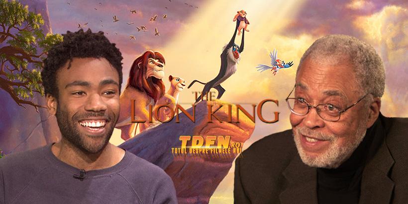 The Lion King: Donald Glover si James Earl Jones