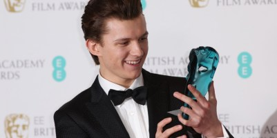 BAFTA Awards 2017: Tom Holland