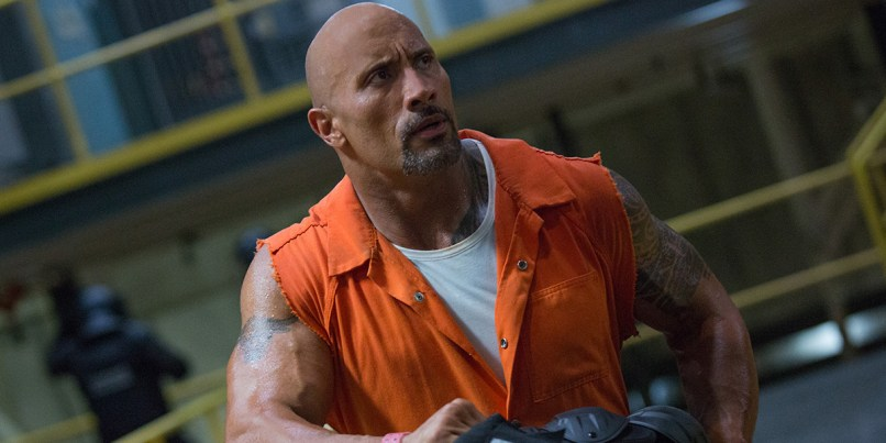 The Fate Of The Furious (Furious 8) Dwayne Johnson