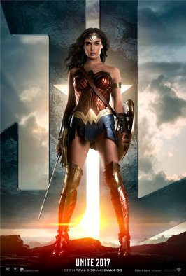 Justice League Wonder Woman Poster