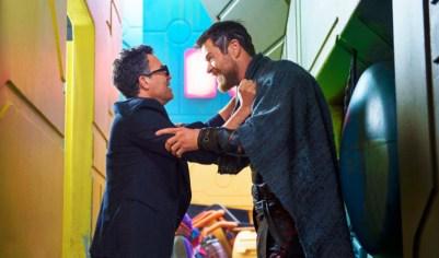 Thor: Ragnarok (2017): Bruce Banner (Mark Ruffalo) and Thor (Chris Hemsworth)