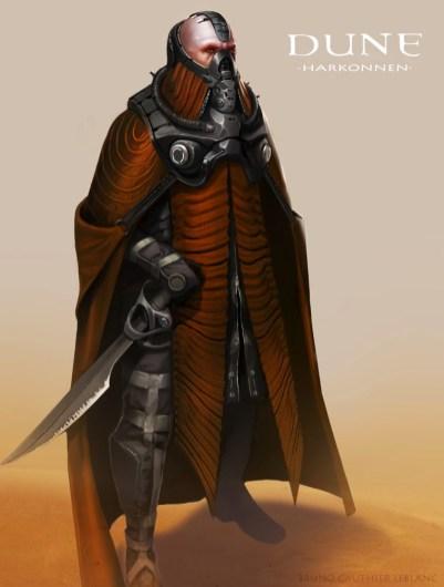 Dune Concept Art: Harkonnen
