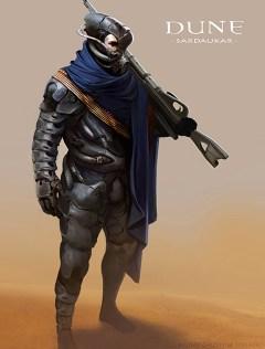 Dune Concept Art: Sardaukar