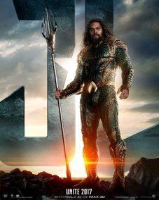 Justice League Poster: Aquaman