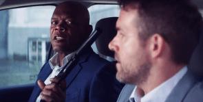 The Hitman's Bodyguard: Ryan Reynolds și Samuel L. Jackson