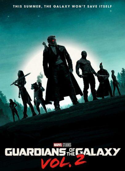 Poster Gardienii Galaxiei Volumul 2