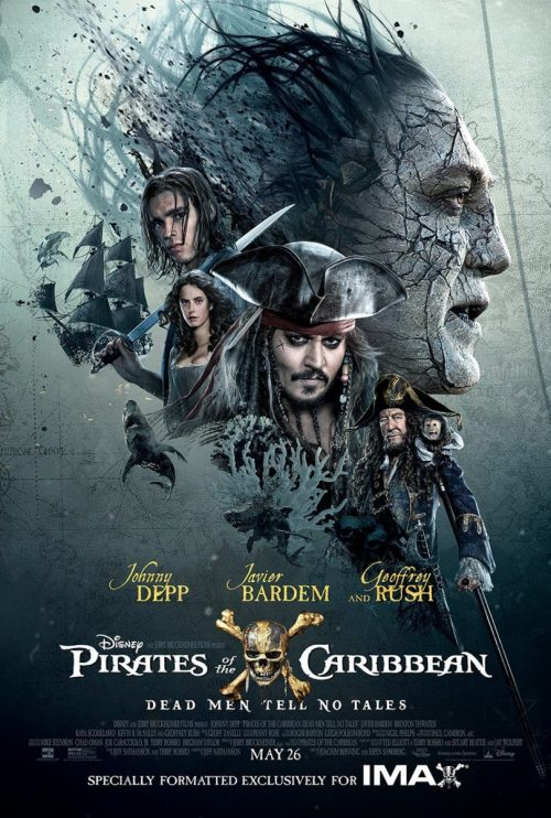 Pirații din Caraibe 5: Răzbunarea Lui Salazar Poster