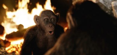 Steve Zahn as Bad Ape in War for the Planet of the Apes.