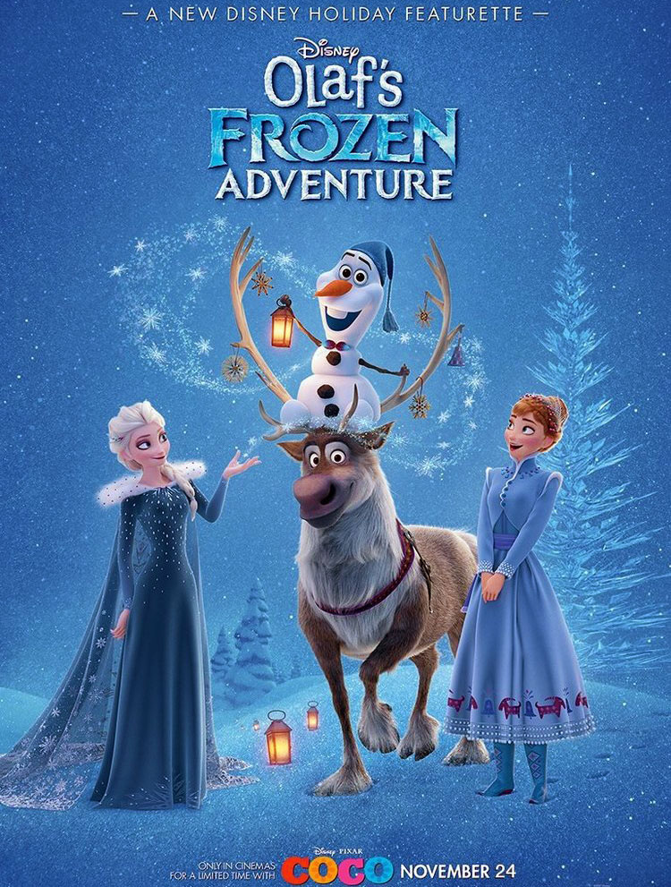 Poster OLAF'S FROZEN ADVENTURE