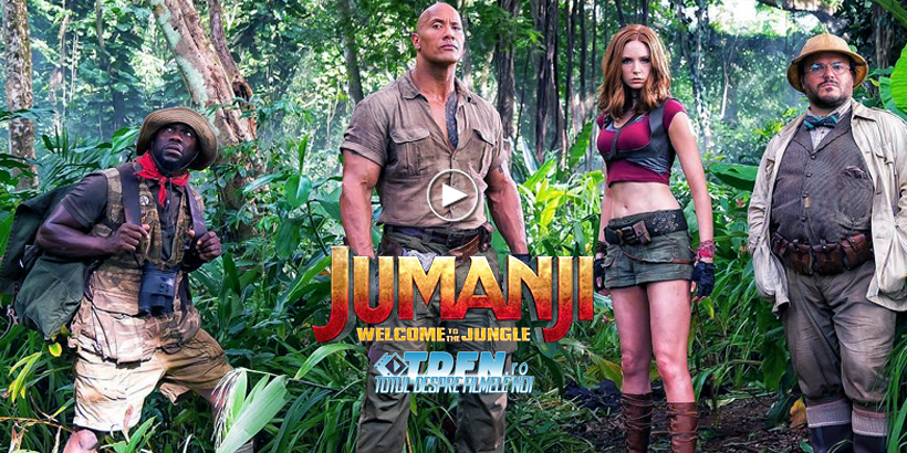 În Primul Trailer JUMANJI: WELCOME TO THE JUNGLE Dwayne Johnson Intră În Jocul Iconic