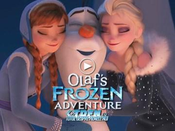 Primul Trailer Pentru OLAF'S FROZEN ADVENTURE