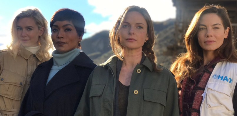 Mission: Impossible - Fallout (2018): Vanessa Kirby, Rebecca Ferguson, Michelle Monaghan, Angela Bassett