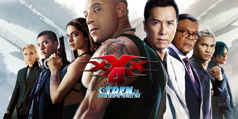 VIN DIESEL Şi Restul Distribuţiei Din Return Of XANDER CAGE Vor Reveni În TRIPLE X 4