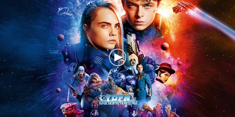 5 Clipuri Din VALERIAN ŞI ORAŞUL CELOR O MIE DE PLANETE Prezintă Un Vibrant Film Sci-Fi