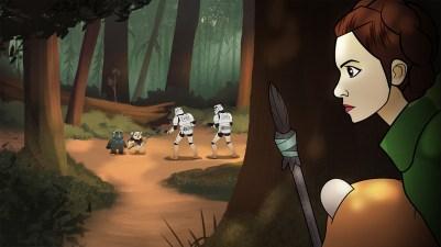 The Forces Of Destiny: Princess Leia