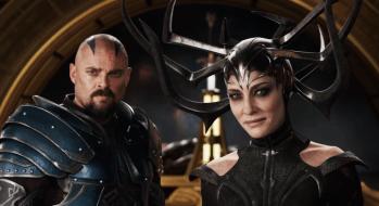 Thor: Ragnarok (2017) Cate Blanchett si Karl Urban