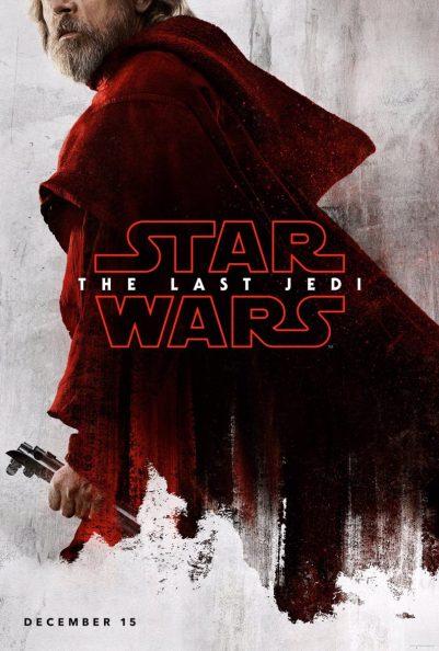 Star Wars: The Last Jedi Poster - Luke Skywalker (Mark Hamill)