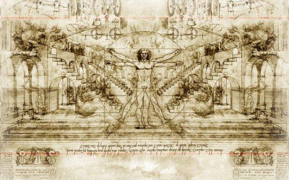 Vitruvian Man: Leonardo Da Vinci