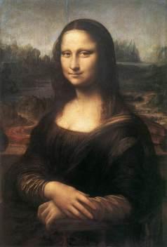 Mona Lisa (Gioconda): Leonardo Da Vinci