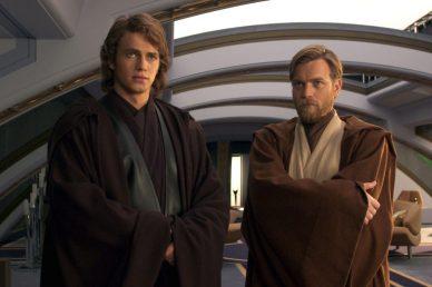 Anakin Skywalker si Obi-Wan Kenobi