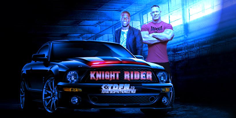 Noul Reboot KNIGHT RIDER Va Fi O Comedie Cu John Cena Şi Kevin Hart
