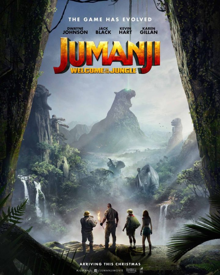 Jumaji: Welcome To The Jungel Poster