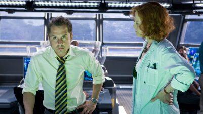 Parker Selfridge (Giovanni Ribisi) si Dr. Grace Augustine (Sigourney Weaver)