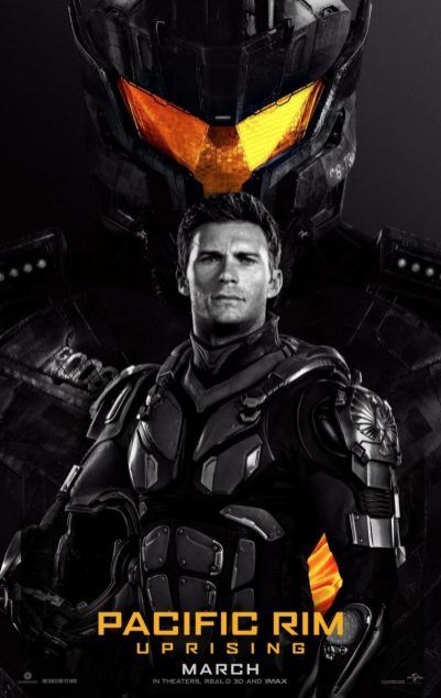 Pacific Rim: Uprising Poster Scott Eastwood