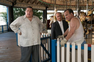 Steve Schirripa, Tony Sirico, Jim Belushi in Wonder Wheel (2017)