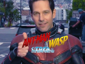 PAUL RUDD Ne Arată Noul Costum În Clipul De Pe Platourile De Filmare ANT-MAN 2