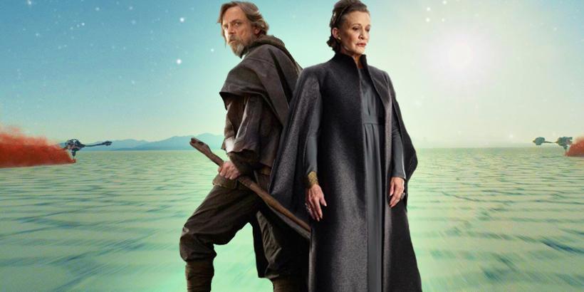 Luke si Leia Skywalker
