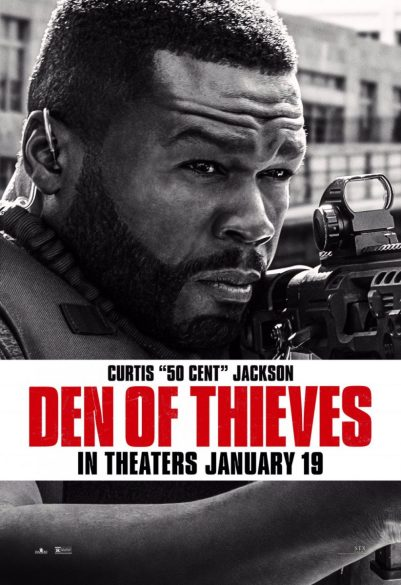 """Poster Den Of Thieves: Curtis """"50 Cent"""" Jackson"""