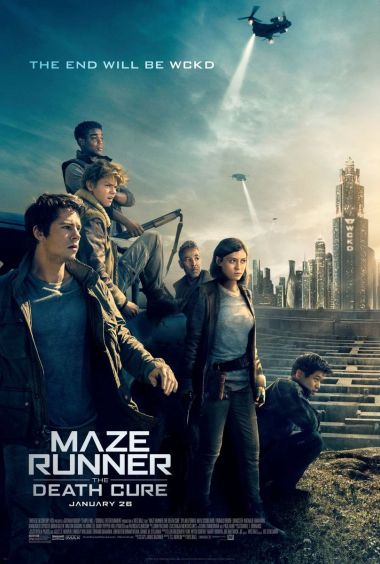 MAZE RUNNER: THE DEATH CURE (LABIRINTUL: TRATAMENT LETAL)