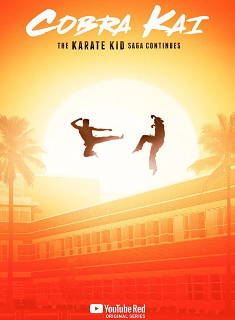 POSTER COBRA KAI (2018) YOUTUBE REED