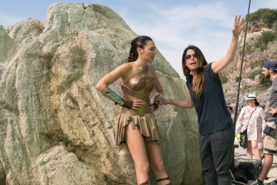 WONDER WOMAN: Regizoarea Patty Jenkins si Gal Gadot (Wonder Woman)