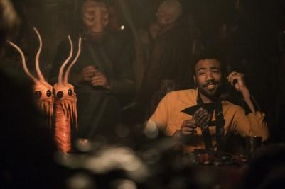 Donald Glover ca Lando Calrissian in Solo: A Star Wars Story