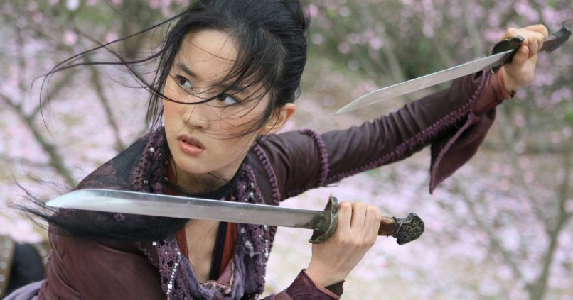 Actrița Yifei Liu este Mulan