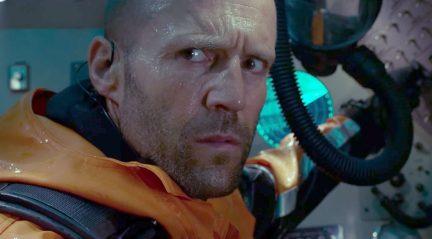 Jason Statham în filmul The Meg