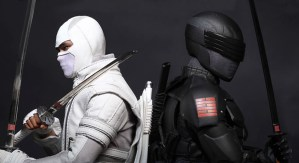 Snake Eyes si Storm Shadow in G.I. Joe: Retaliation