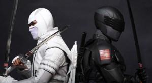 Snake Eyes si Storm Shadow in G.I. Joe: Retaliation