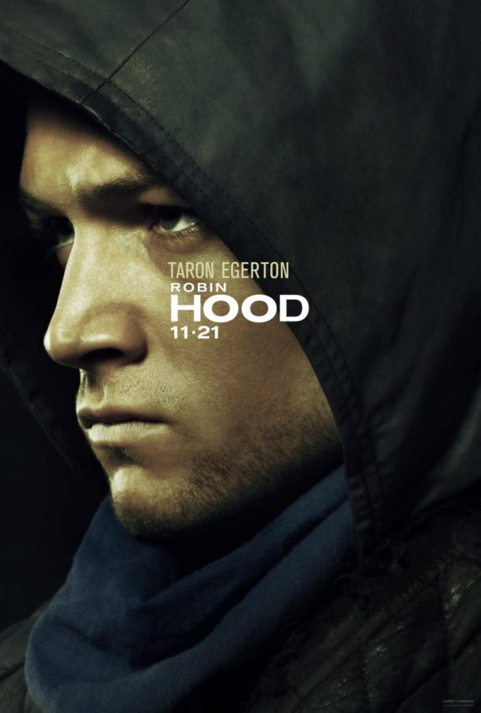 Robin Hood (2018) Poster Robin De Loxley (Taron Egerton)
