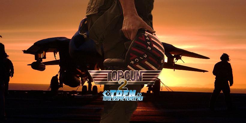 TOP GUN 2: TOP GUN 2: Au Început Filmările Şi TOM CRUISE Împărtăşeşte O Imagine IconicăFilmările Şi TOM CRUISE Împărtăşeşte O Imagine Iconică