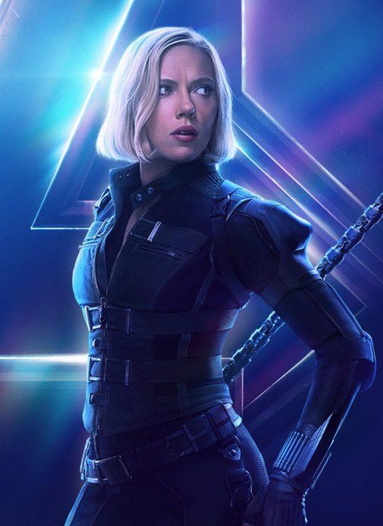 Black Widow (Scarlett Johansson) în Avengers: Infinity War