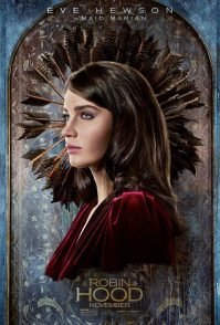Robin Hood Poster: Eve Hewson (Maid Marian)