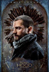 Robin Hood Poster: Jamie Dornan (Will Scarlet)