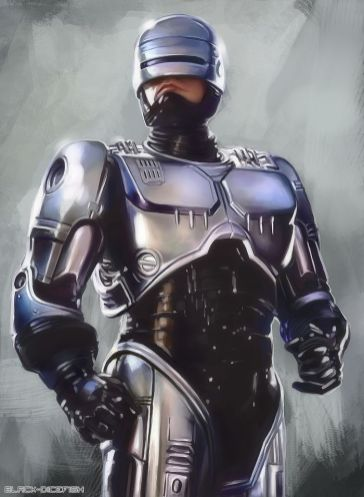 Alex Murphy (Peter Weller) RoboCop 1987
