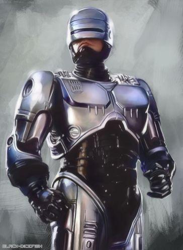 Alex Murphy (Peter Weller) RoboCop 1987
