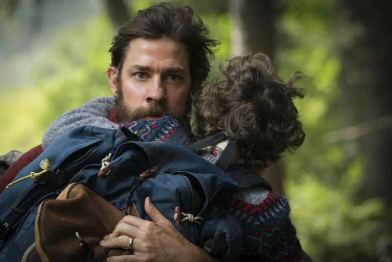 John Krasinski si Noah Jupe.
