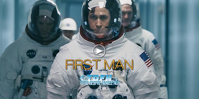 În Noul Trailer Pentru Filmul FIRST MAN Actorul RYAN GOSLING Se Îndreaptă Spre Spațiu
