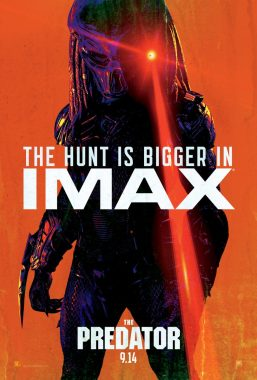 The Predator (2018) IMAX Movie Poster